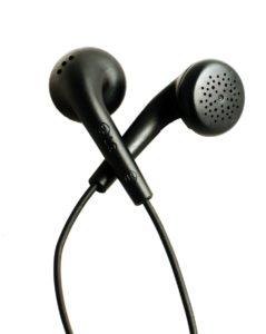 fone de ouvido auricular