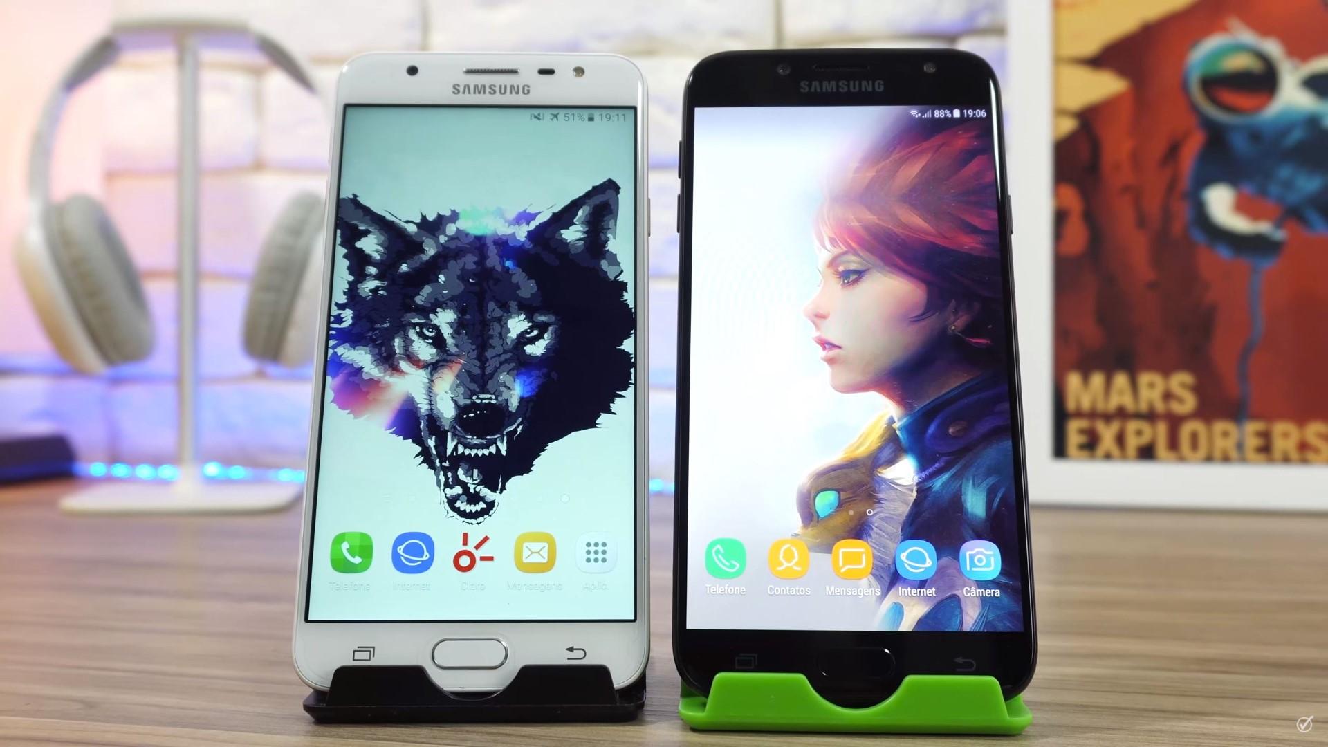 3905b59a48 Galaxy J7 Pro vs Galaxy J7 Prime  qual é o melhor  - EscolhaSegura