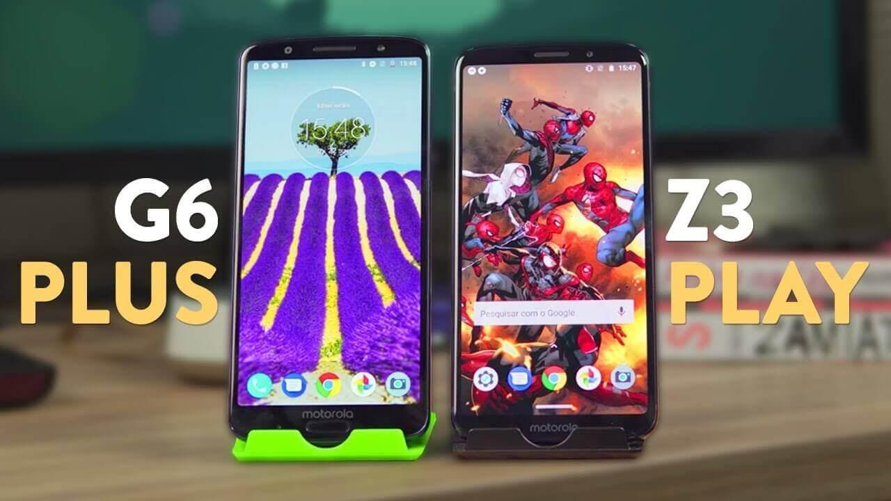 88ed80bb70 Moto G6 Plus vs Moto Z3 Play  qual é a melhor linha da Motorola ...