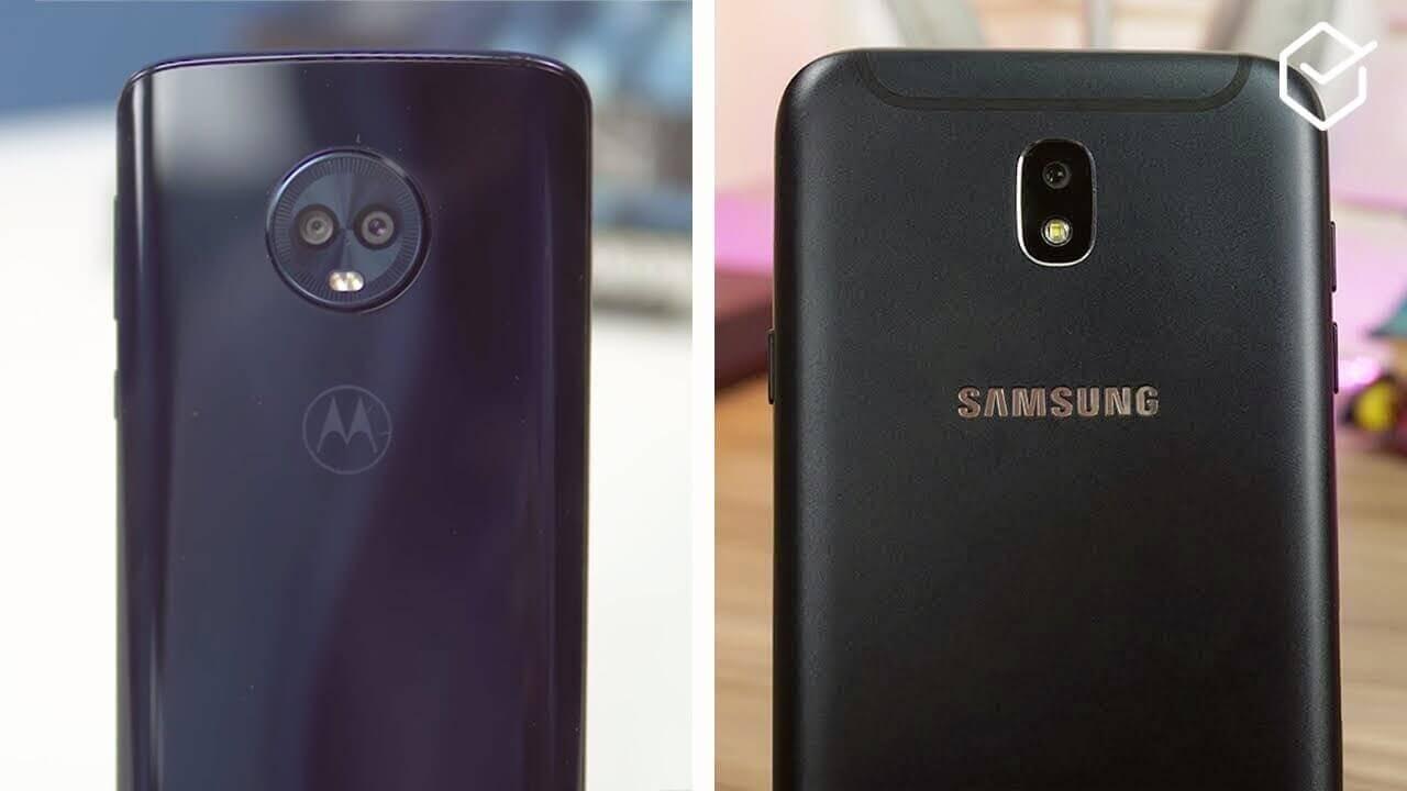 0df7e63bae Moto G6 Plus vs Galaxy J7 Pro  qual se sai melhor  - EscolhaSegura