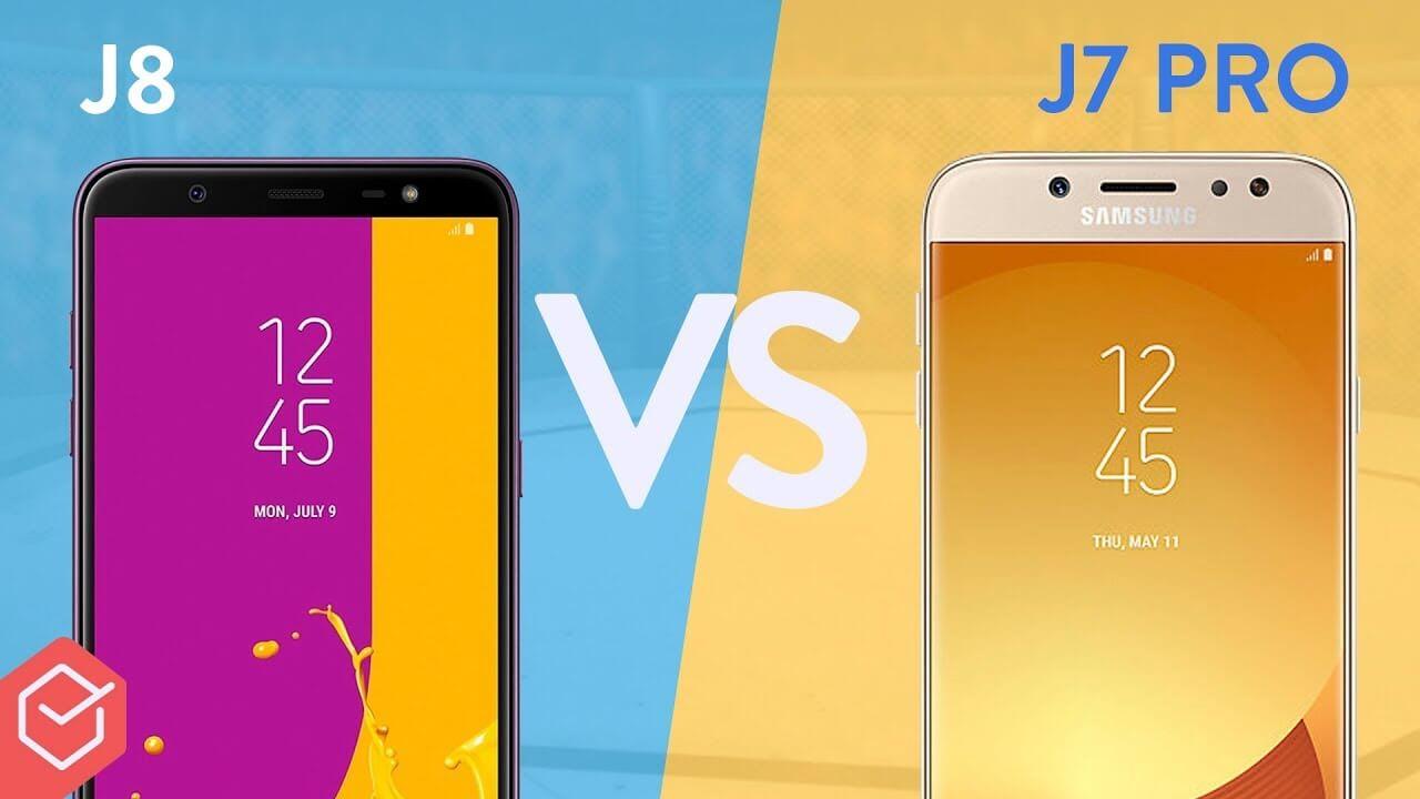 54971b0a0d Galaxy J8 vs Galaxy J7 Pro  qual é o melhor  - EscolhaSegura